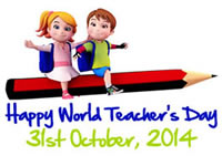 World Teachers' Day - 31 October 2014